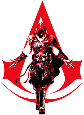 Ezio - Assassin's Creed Art Print by Danilo Caro