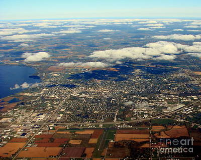 Photograph - F-007 Fond Du Lac Wisconsin To East Fall by Bill Lang