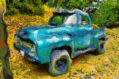 Photograph - F 100 Ford Vintage Wine Truck by Floyd Snyder