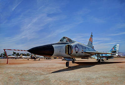 Photograph - F-102 Dagger by Richard Stephen