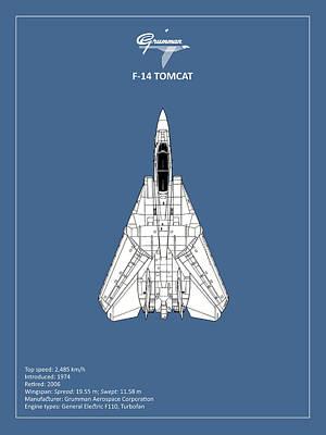 F-14 Photograph - F-14 Tomcat by Mark Rogan