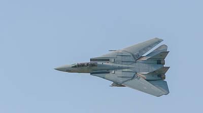 F-14b Tomcat Art Print by Allan Levin