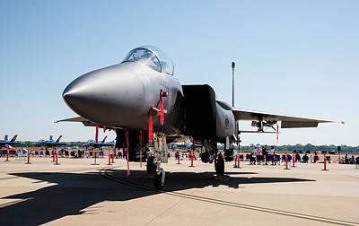 Photograph - F-15 by Alan Roberts