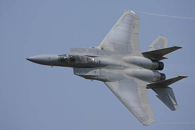 F-15c Eagle Photograph - F-15 Eagle High Speed Pass by John Clark