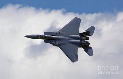 Photograph - F-15 Eagle by Stephen Roberson