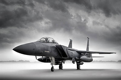 Digital Art - F-15 Strike Eagle by Douglas Pittman