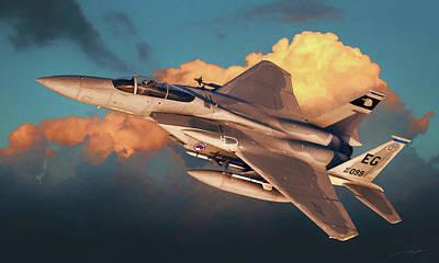 F-15c Eagle Digital Art - F-15c Eagle by Dale Jackson