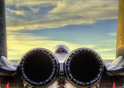 Jet Photograph - F-15e A Rear End That Is True Art by JC Findley