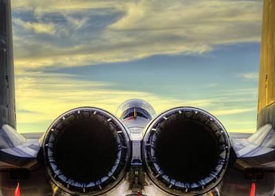 F15e Wall Art - Photograph - F-15e A Rear End That Is True Art by JC Findley