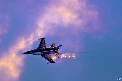 Photograph - F-16 by Chris Lord