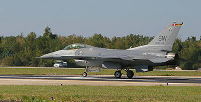 F-16 Falcon Art Print by Donald Tusa