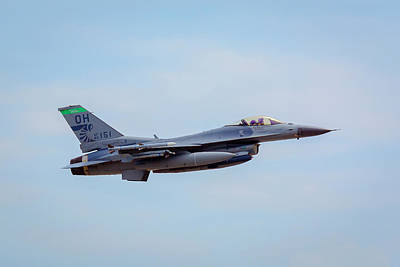 Photograph - F-16 Fighting Falcon by Jack R Perry