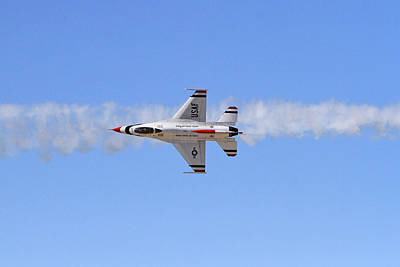 World Forgotten Rights Managed Images - F-16 Pass Royalty-Free Image by Shoal Hollingsworth