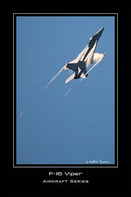 F-16 Viper Art Print by Mathias Rousseau