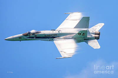 Photograph - F-18 Fighter Warbirds by Rene Triay Photography