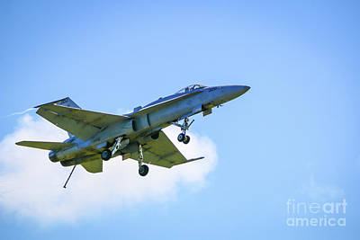 Photograph - F-18 Flying Dirty by Tom Claud