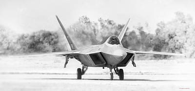 Photograph - F-22 by Douglas Castleman