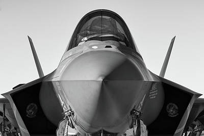 Photograph - F-35 Stealth - 2018 Christopher Buff, Www.aviationbuff.com by Chris Buff