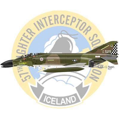F-4c Digital Art - F-4c Phantom 57fis by Arthur Eggers