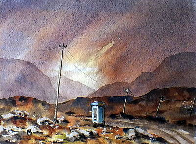 Painting - F 735 Mayo Links Worldwide by Val Byrne