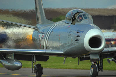 F-86 Sabre Print by Colin Bailey