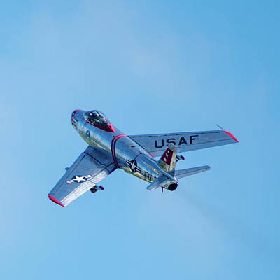 Photograph - F-86 Sabre by Randy Scherkenbach