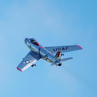 Photograph - F-86 Sabre by Randy Scherkenbach