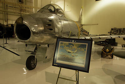 Photograph - F-86 Sabre Usaf by Mike Eingle