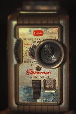 8mm Photograph - Kodak Brownie 8mm Movie Camera 2 by Michael Demagall