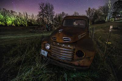 Photograph - F O R D by Aaron J Groen