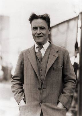 Bsloc Photograph - F. Scott Fitzgerald, 1896-1940 In 1928 by Everett