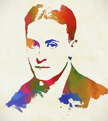 Painting - F Scott Fitzgerald by Dan Sproul