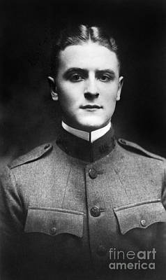 1918 Photograph - F. Scott Fitzgerald by Granger