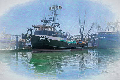 Photograph - F/v Heidi Sue by Bill Posner