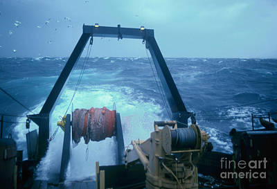 Dragger Photograph - F/v Seawolf by Jim Beckwith