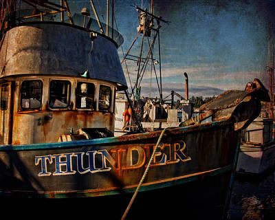 Photograph - F/v Thunder by Thom Zehrfeld