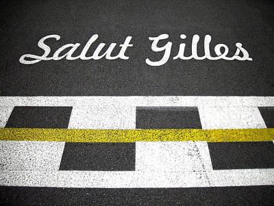 F1 Circuit Gilles Villeneuve - Montreal Art Print by Juergen Weiss