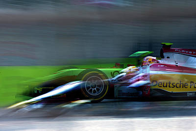Photograph - F1 race 2 by George Cabig