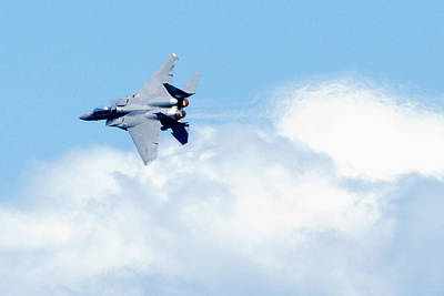 F15 Wall Art - Photograph - F15 - Heatwave by Greg Fortier