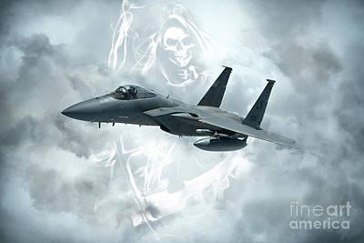 Grim Digital Art - F15 Reaper by J Biggadike