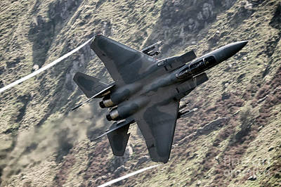 F15 Wall Art - Digital Art - F15 Strike Eagle by J Biggadike