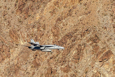 Photograph - F18 Level Flight In Star Wars Canyon by Bill Gallagher