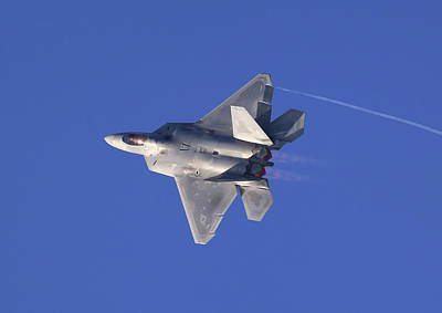 Photograph - F22 Raptor by Steve McKinzie