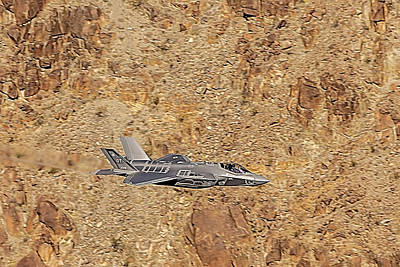 Photograph - F35 Flying The Jedi Transition by Bill Gallagher