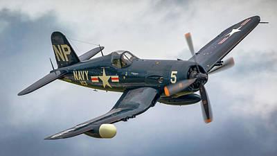 Photograph - F4-u Corsair by Brian Caldwell