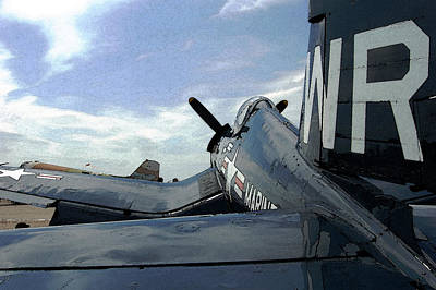 Photograph - F4-u Corsair by Jame Hayes