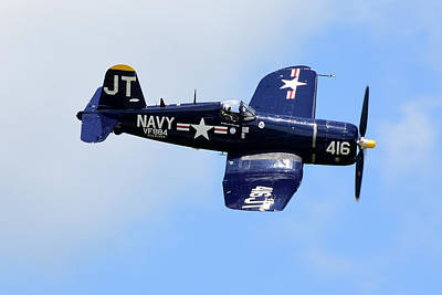 Photograph - F4u Corsair by Dan Myers