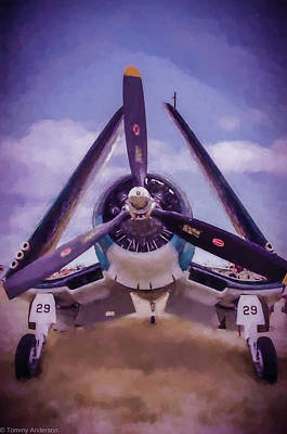 New Years - F4U Corsair by Tommy Anderson