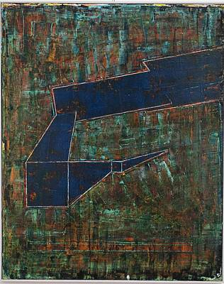 Dusk Oil On Board 16x20 Art Print