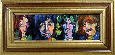 Painting - Fab Four by Les Leffingwell